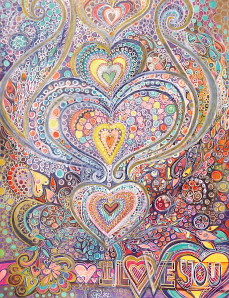 I Love You Art | Cynthia Christensen Art