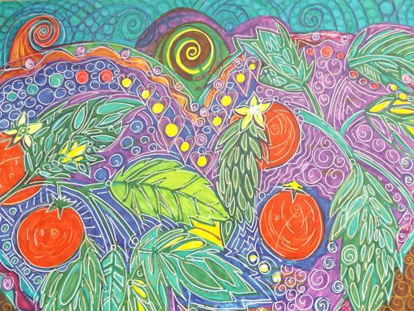 Tomatoe Love Art   Cynthia Christensen Art