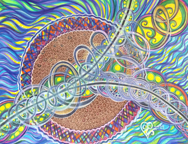 New Year's Divergence Art   Cynthia Christensen Art