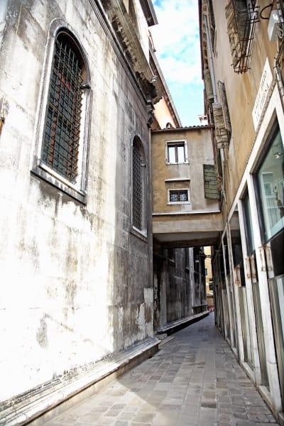 Shop for Venice, Italy Photographic Art | Narrow Walkway of Venice