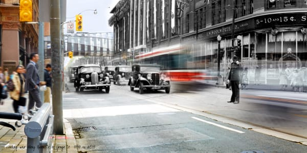 Past Present - Woolworth's on Queen