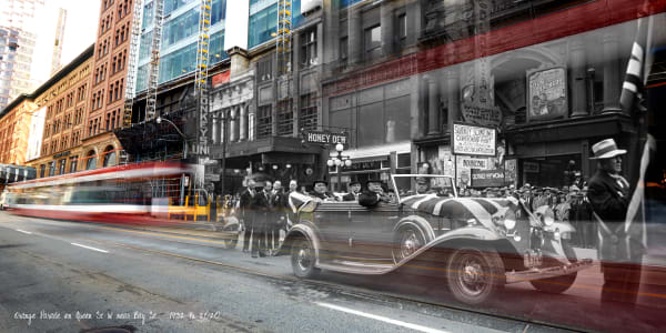 Past Present - Orange Parade