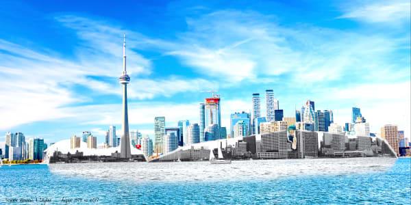 Present Past - Toronto Harbour & Skyline