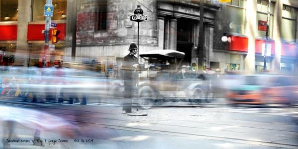Past Present - Traffic Officer