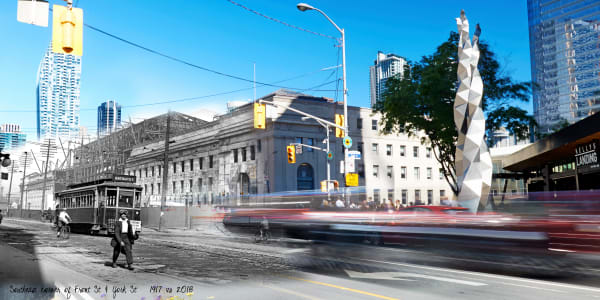 Past Present - Union Station 1917