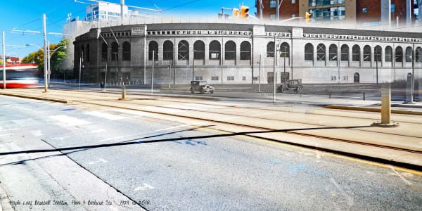 Past Present - Maple Leaf Stadium