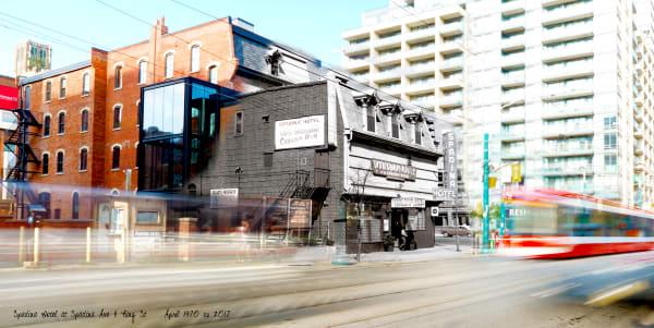 Past Present - Spadina Hotel