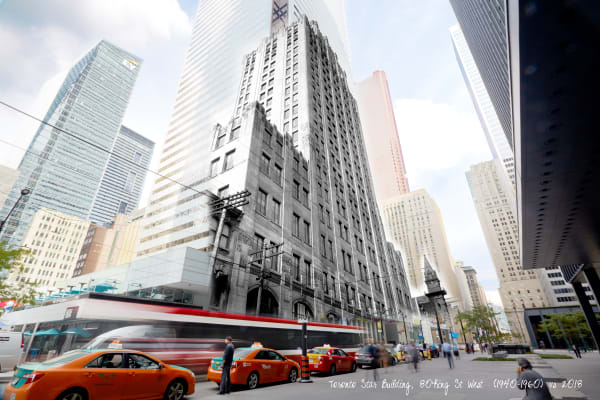 Past Present - Toronto Star Building