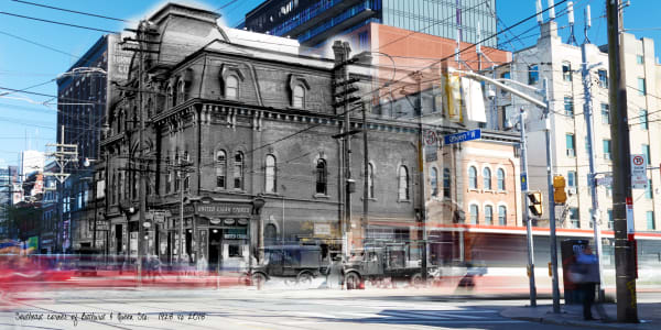Past Present - The Occidental Building