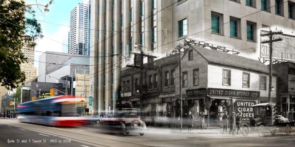 Past Present - Southeast Queen & Simcoe