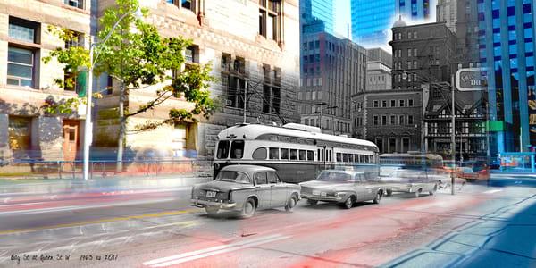 Past Present - PCC Streetcar