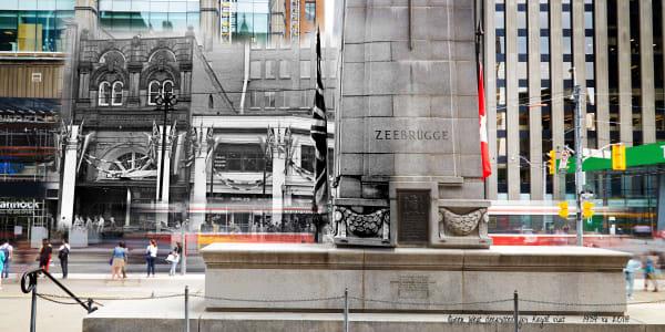 Past Present - Zeebrugge Cenotaph