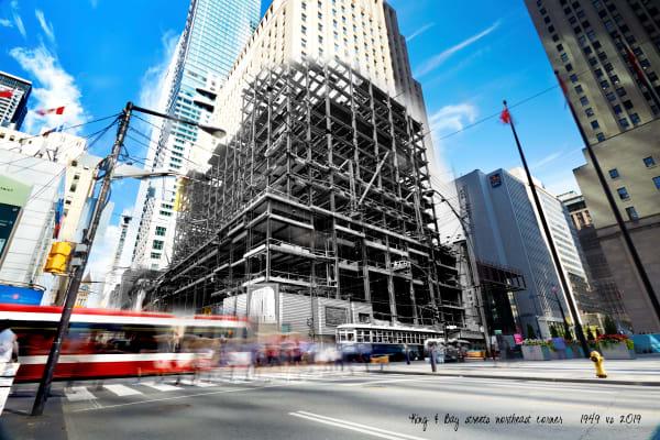 Past Present - Scotiabank under Construction