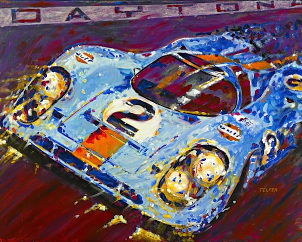 Daytona At Night Limited Edition Print Art | Telfer Design, Inc.