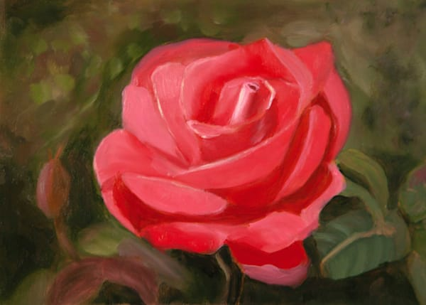 Ode To A Rose Art | Pearl White Studio