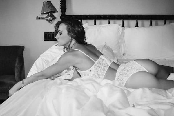 Anhen In White B/W Photography Art | LenaDi Photography LLC