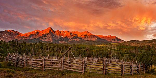Daybreak Semi Panorama Photography Art | Ken Smith Gallery