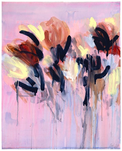 Pink Rain Art | Caroline Wright Art