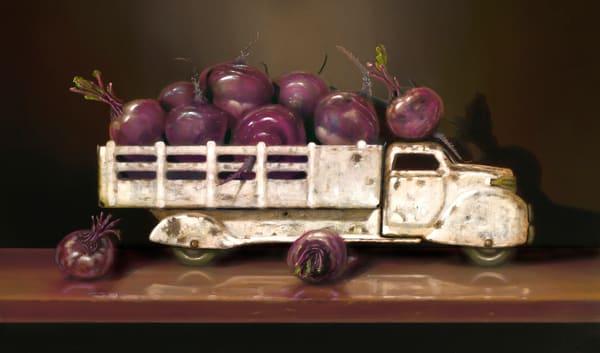 Beet Up Truck Art | Richard Hall Fine Art