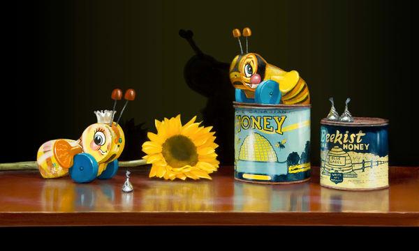 Bee My Honey Art | Richard Hall Fine Art