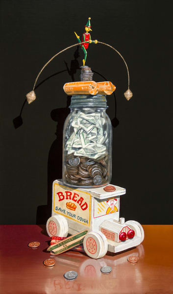 Bank Balance Art | Richard Hall Fine Art