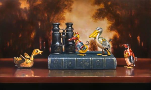 Bird Watching Art | Richard Hall Fine Art