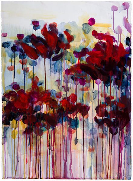 Red Ribbons Art | Caroline Wright Art