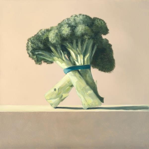 Broccoli Art | Richard Hall Fine Art