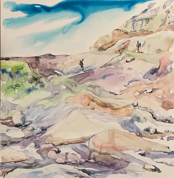 Dinosaur Provincial Park Art | Karen Bishop Artist