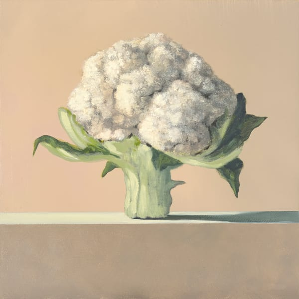 Cauliflower Art | Richard Hall Fine Art