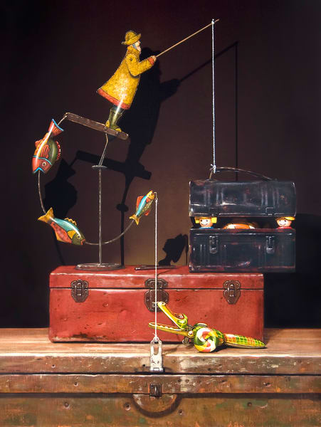 Catch And Release Art | Richard Hall Fine Art