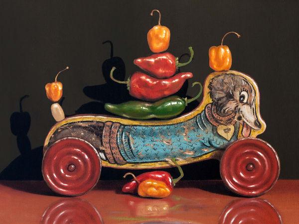 Chili Dog Art | Richard Hall Fine Art