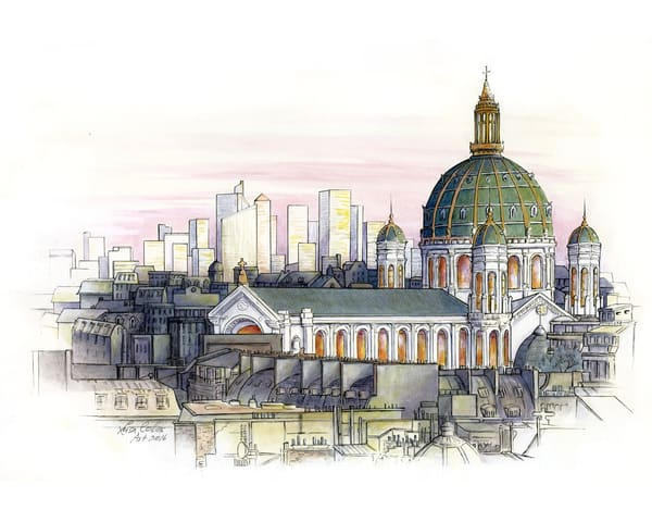 Paris: Fusion Of Old And New Art | Leisa Collins Art