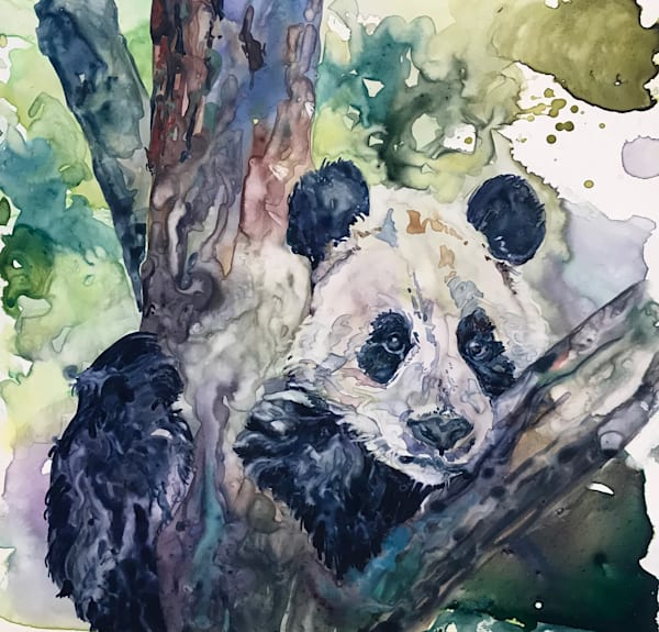 Happy Panda Art | Karen Bishop Artist