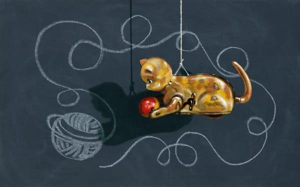 Cat's Cradle Art | Richard Hall Fine Art