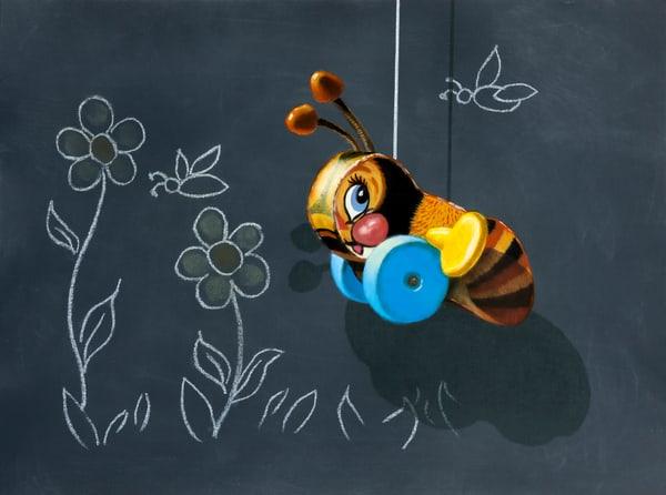 Busy Buzzy Bee Art | Richard Hall Fine Art