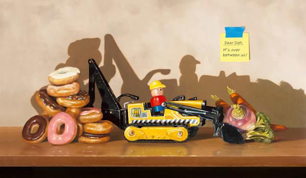 Dear Diet It S Over Art | Richard Hall Fine Art