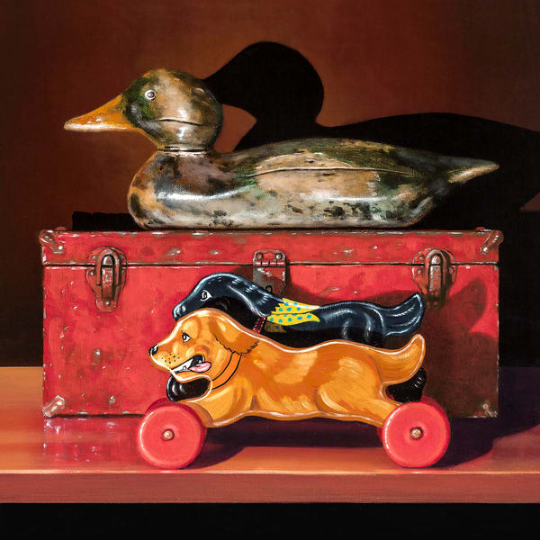 Duck Hunt Art | Richard Hall Fine Art