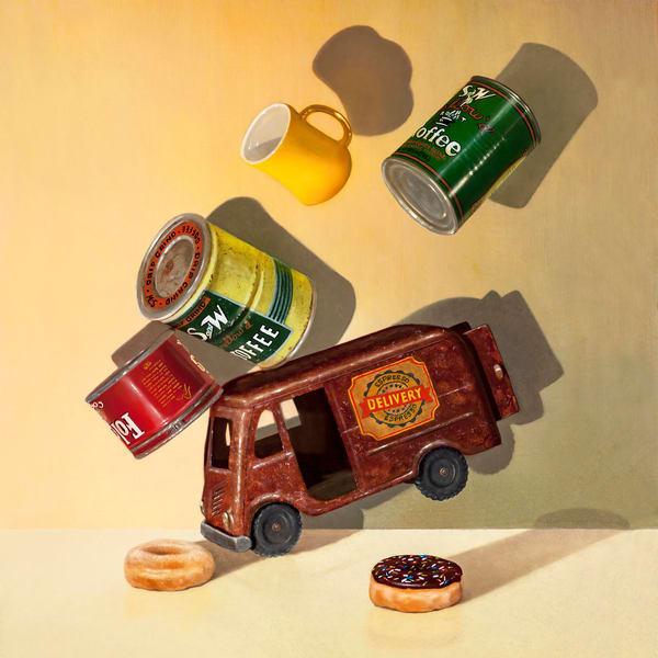 Coffee Break Art | Richard Hall Fine Art