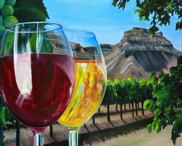Pour N Sip | Original Mixed Media Painting Art | MMG Art Studio | Fine Art Colorado Gallery