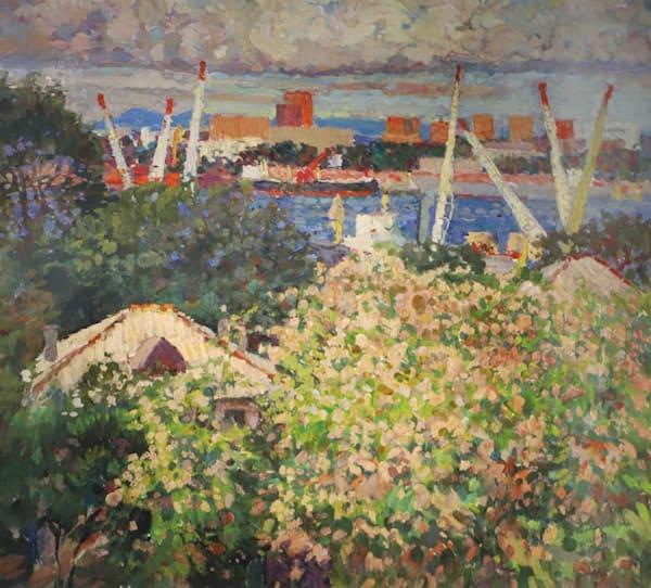 Townscape, Vladivostok Art | Fountainhead Gallery