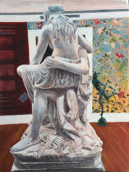 Marble Statue At Tulane Gallery Art | New Orleans Art Center