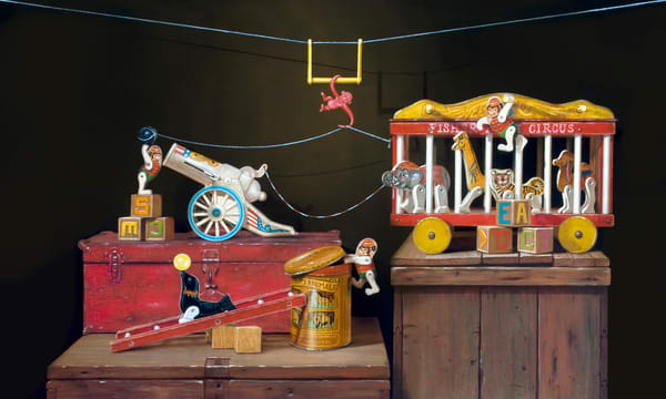 Escape Act Art | Richard Hall Fine Art