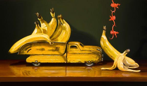 Going Bananas Art | Richard Hall Fine Art