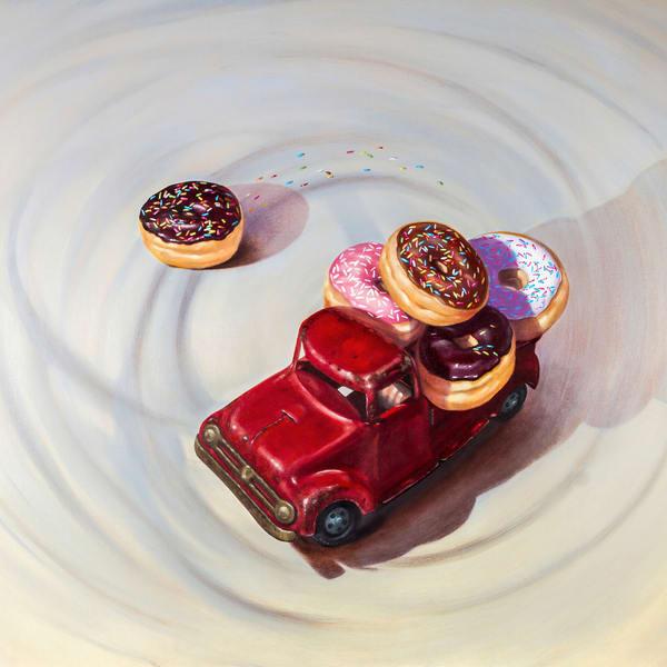 Doing Donuts Art | Richard Hall Fine Art