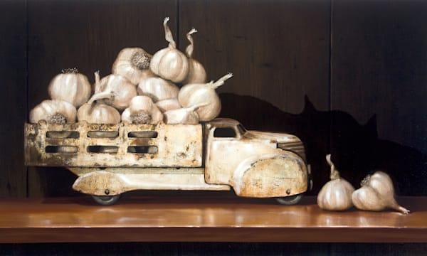 Garlic Shadows Art | Richard Hall Fine Art