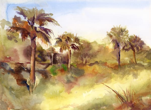 Central Florida Palms Art | ArtByPattyKane