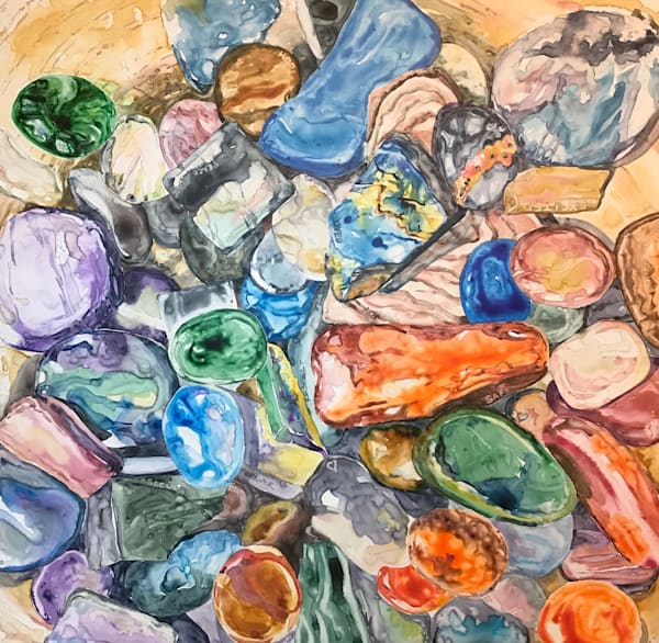 Love In The Rocks Art | Karen Bishop Artist