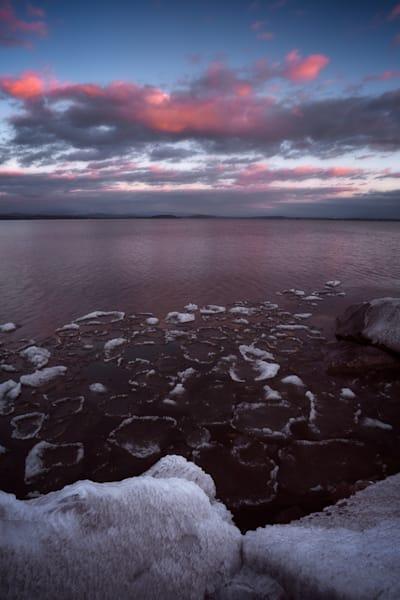 Island Line Ice   South Hero Photography Art | C.H.Diegel Photography
