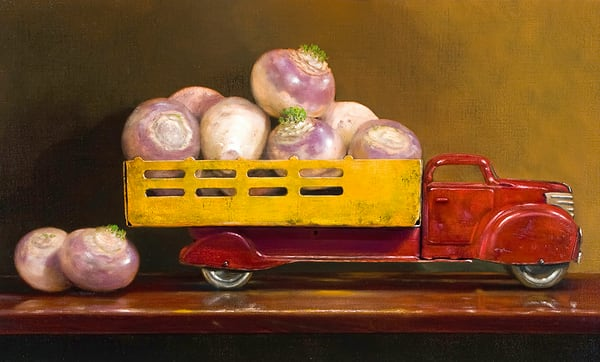 Just Fell Off The Turnip Truck Art | Richard Hall Fine Art